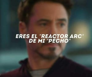 Marvel, tony stark, and love image