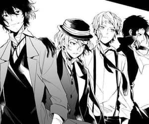anime, bungou stray dogs, and boy image