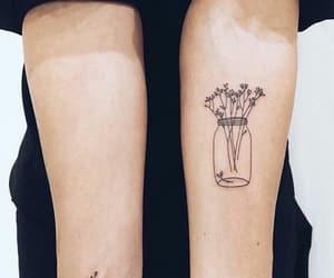 flower, tattoo, and Tattoos image