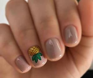 nails and pineapple image