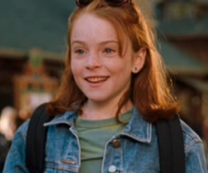 lindsay lohan, the parent trap, and disney image