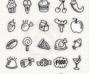 doodles and food doodles image