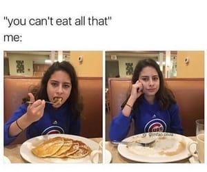 funny, food, and girl image
