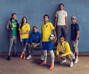 neymar, thiago silva, and seleção brasileira image