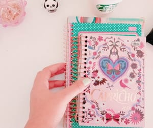 agenda, planner, and blogger image