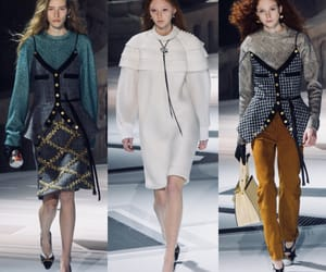 fashion show, Louis Vuitton, and ready to wear image
