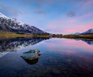 beautiful, new zealand, and lake image