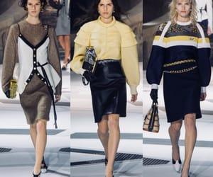 fashion show, runway, and vuitton image