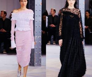 fashion, runway, and show image