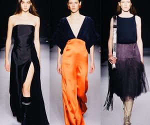 fashion show, runway, and Lanvin image