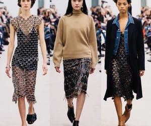 fashion show, runway, and paco rabanne image