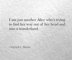 alice, quotes, and wonderland image