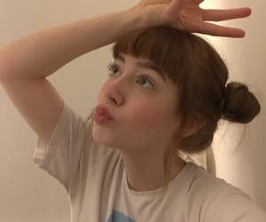 anime, buns, and hair image