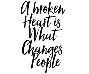 broken, change, and changes image
