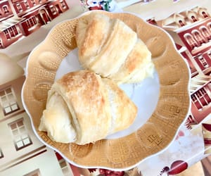croissants, meal, and yammi image