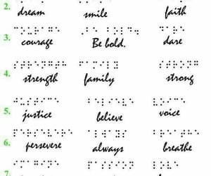 braille, tattoo idea, and words image