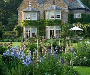 garden, home, and house image