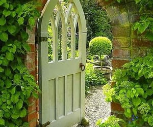 countryside, gate, and english image