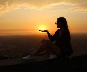 sunset, views, and cute image