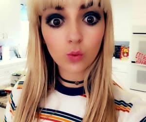 big, blonde, and make up image