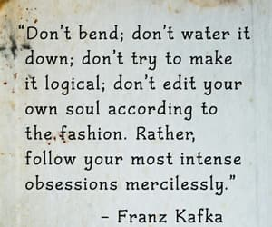 franz kafka and quote image