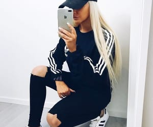 adidas, badgirl, and girl image