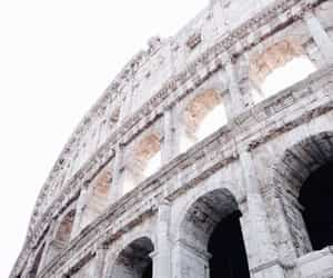 architecture, Coliseum, and white aesthetic image