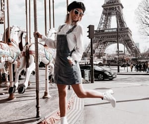 fashion, travel, and paris image