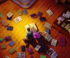 tangled, book, and rapunzel image