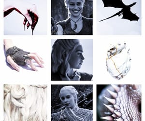 aesthetic, lanister, and daenerys image