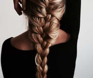 braids, hairstyle, and mode image