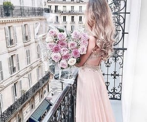dress, inspiration, and pink image