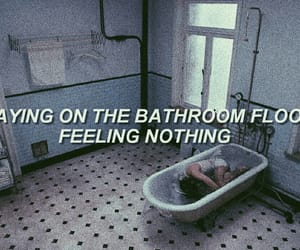aesthetic, bathroom, and girl image