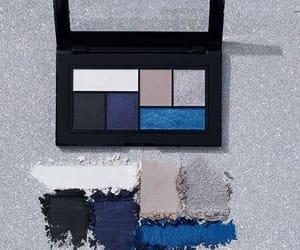 blue, eyeshadow, and fashion image