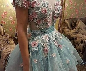 fashion, pastel, and prom dress image