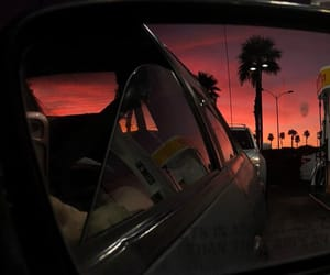 beautiful, orange, and pink image