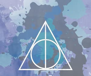aesthetic, background, and deathly hallows image