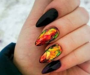 beautiful, manicure, and trendy image