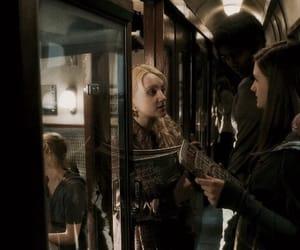 harry potter, luna lovegood, and ginny weasley image