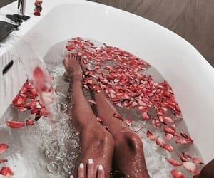 bath, girl power, and goals image