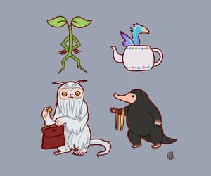 Fantastic Beasts | Source: Tumblr | Credit to the Artist
