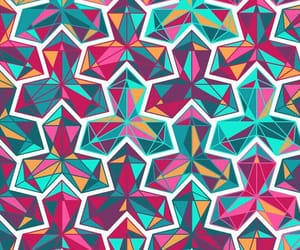 pattern, background, and geometric image