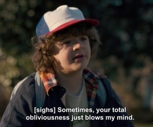 quotes, stranger things, and aesthetic image