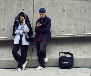 clothes, korea, and men image