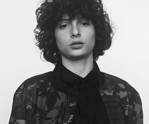 finn wolfhard, aesthetic, and b&w image