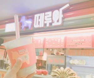 pink, korea, and aesthetic image