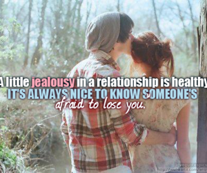 love, quote, and jealousy image