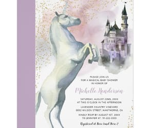 fairytale, magical, and baby shower image