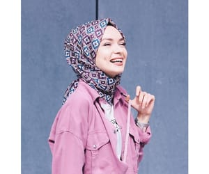girly and hijab fashion image