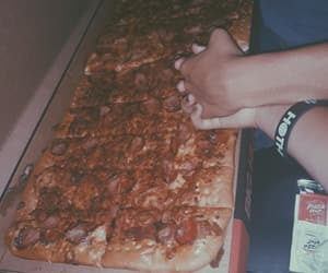goals, lovers, and pizza image